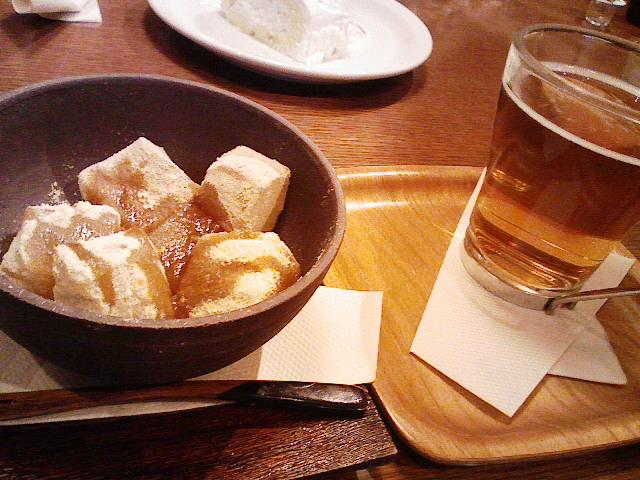 カフェノーム。わらび餅