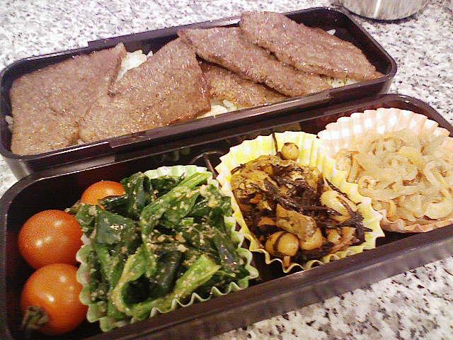 ステーキ丼★