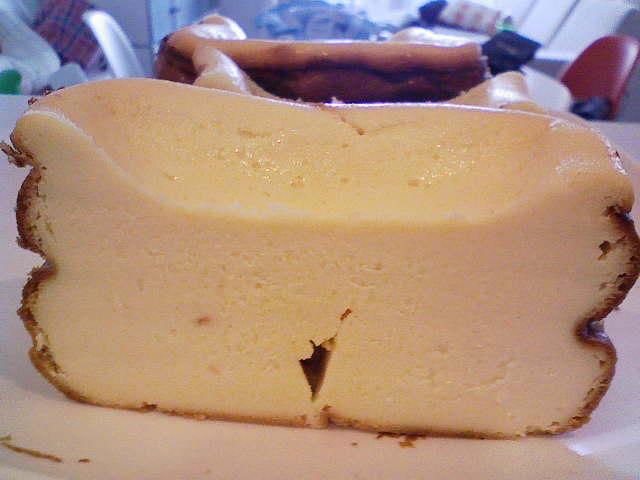 スイッチポン!でベイクドチーズケーキ