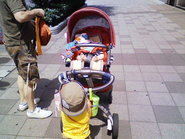 公園にいるオッサン