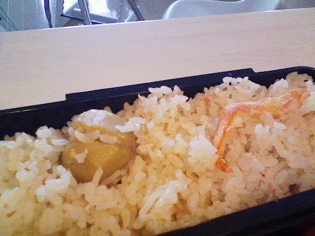 秋のお弁当